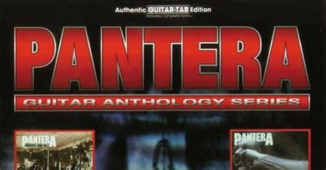 Pantera Shedding Skin Bass Tab by Guitar Tab Links Pantera Guitar Anthology Series