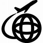 Icon Travel Avio International Icono Icons Internacionales