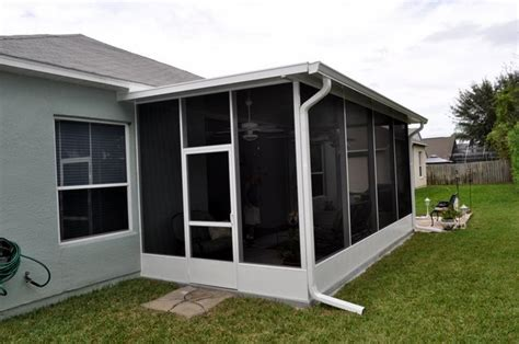 Screened In Porch Cost Calculator by 3 Types Of Screen Enclosures And What They Cost Fl Screens
