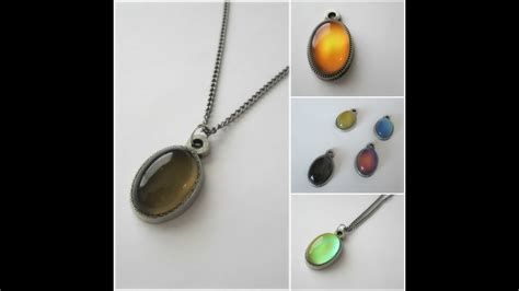 color changing stones mood stones color changing mood pendant