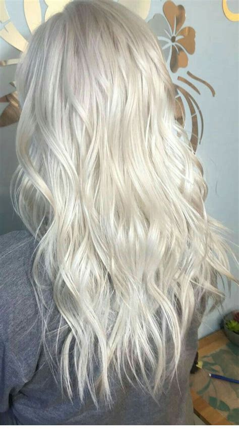 icy blonde hair color inspiring ladies hair