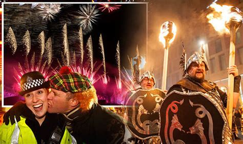 scottish new year images what is hogmanay how is new year s celebrated in scotland express co uk