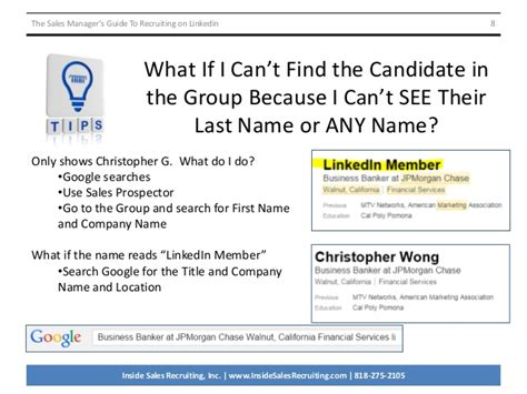 The Sales Manager's Guide To Recruiting On Linkedin V2091414