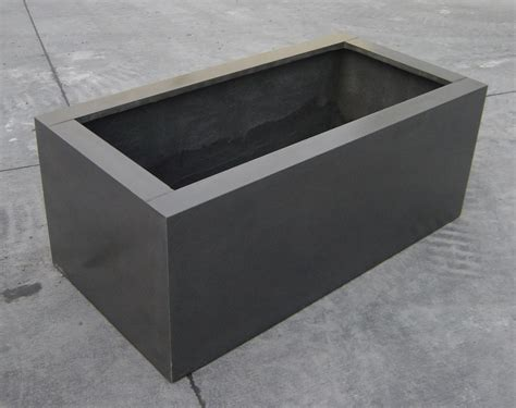 indoor outdoor fireplaces pots planter boxes tectonic