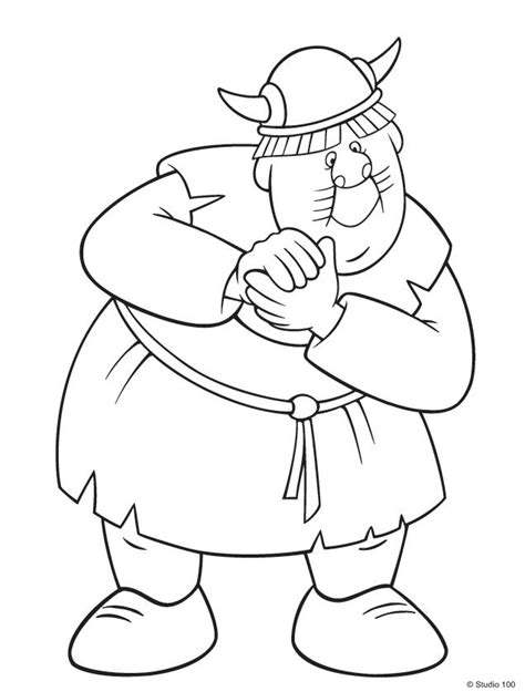 kids  funcom  coloring pages  wicky  viking