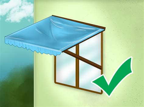 standard window awning  steps  pictures