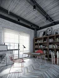 Industrial Home Office Design