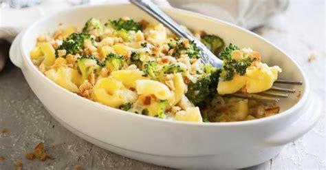 recette de gr 226 tin de p 226 tes aux brocolis et jambon 224 la sauce blanche l 233 g 232 re