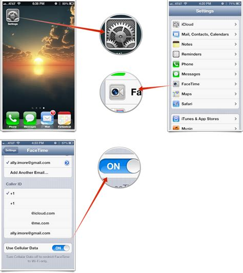 how to enable a disabled iphone how to enable or disable facetime cellular on iphone