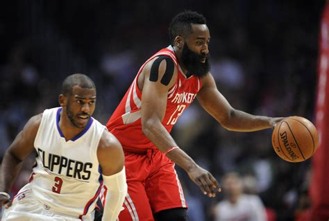 Houston Rockets 5 Reasons Chris Paul And James Harden Won