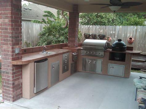 outdoor kitchen island gas bar equipment built fryer kitchens grills deep sink houston accessories grill patio under islands egg tx