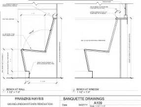 Table Banquette Size by Banquette Seating Design Cotter Christian Ltd Co