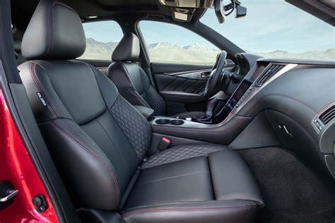 infiniti q50 interior 2017 2018 infiniti q50 red sport 400 euro spec front interior