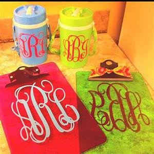 337 best images about vinyl to do39s on pinterest vinyls With kitchen cabinets lowes with monogram stickers for water bottles