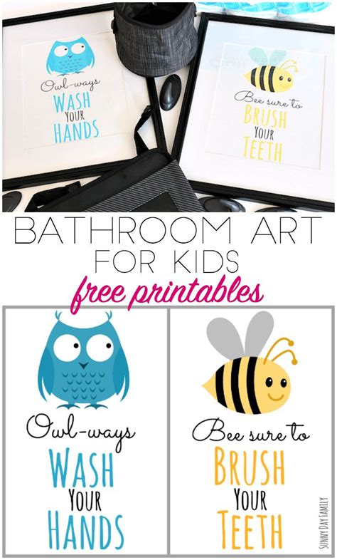 Printable Bathroom Signs For Preschool by 17 Best Ideas About Kid Bathrooms On