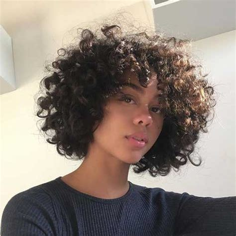 cute and pretty curly short hairstyles short hairstyles