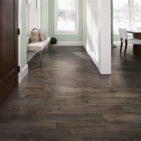 pergo flooring smoked chestnut pergo max premier 7 48 in w x 4 52 ft l smoked chestnut embossed wood plank laminate flooring