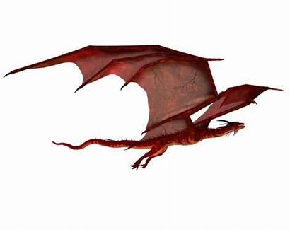 Dragon Flying Drache Drago Gliding Rode Depositphotos