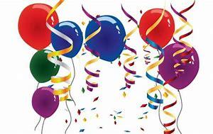 Afbeeldingsresultaten voor slingers en ballonnen