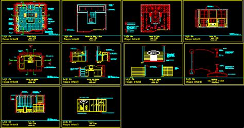 clothes store   fashion mall  autocad cad