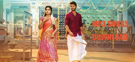 Geetha Govindam Songs Download In Mp3 For Free