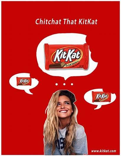 Kitkat Ad Candy Behance Slogan