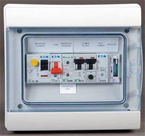 Quadro Elettrico Monofase Per Piscina, Gestisce Pompe E Fari