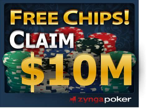 poker zynga chips claim want