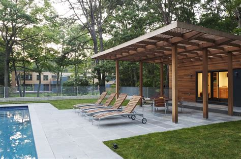 modern covered patio ideas patio modern with lounge chairs