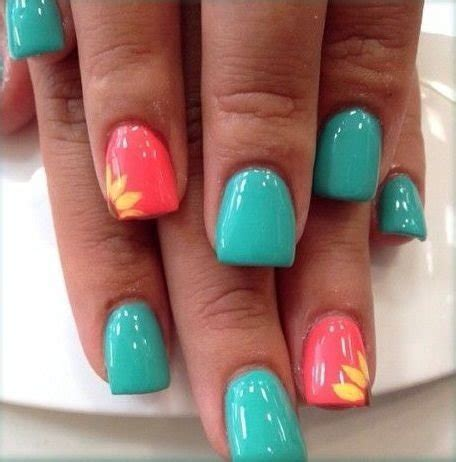 fingernail colors sunflowers 45 flirty nail ideas for nail