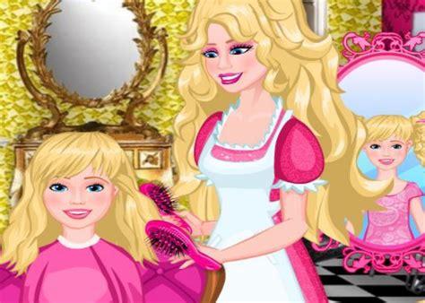 Salon De Coiffure Barbie Sur Jeux Fille Gratuit