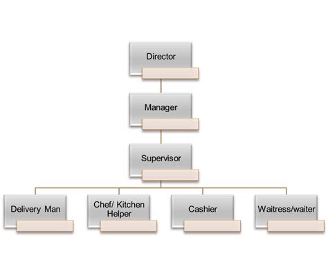 simple organizational structure vertola