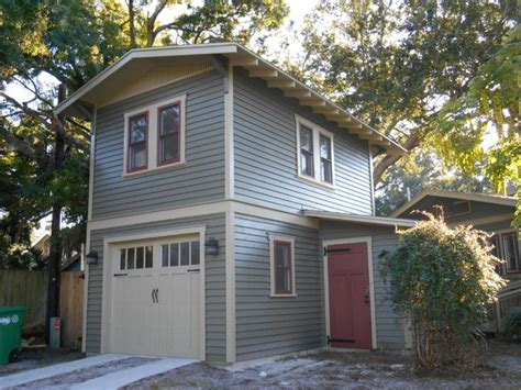 Two Storey Sheds by Two Story Garage Apartment Craftsman Exterior Ta