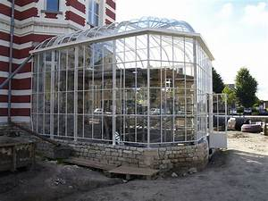 Serre Acier Verre : veranda serre adossee veranda adossee kit veranda leroy ~ Premium-room.com Idées de Décoration