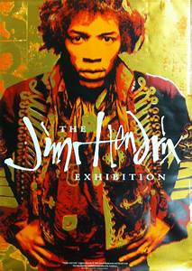 Jimi Hendrix - The Exhibition Poster - 51x76cm | eBay
