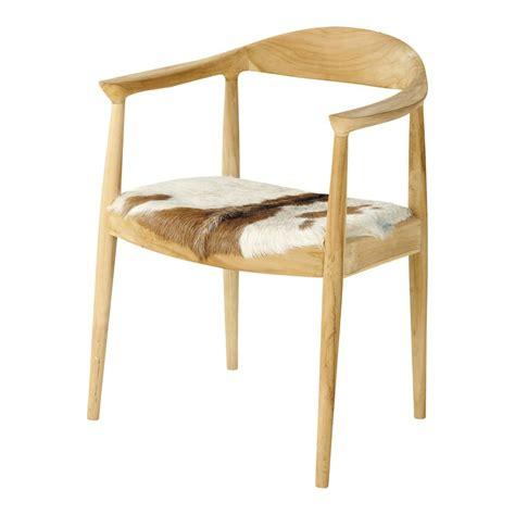 fauteuil en fourrure de ch 232 vre blanc et marron lapon