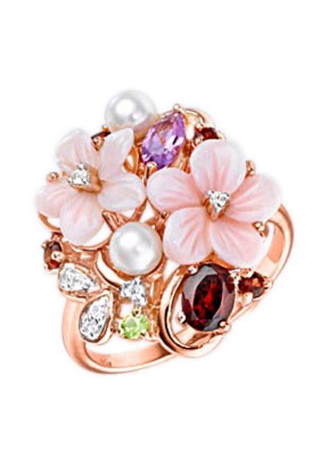 vivance jewels ring quot blume bl 252 ten quot mit perle otto