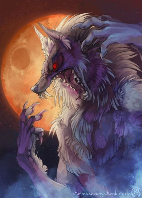 pin  karen krempels    werewolf creature art