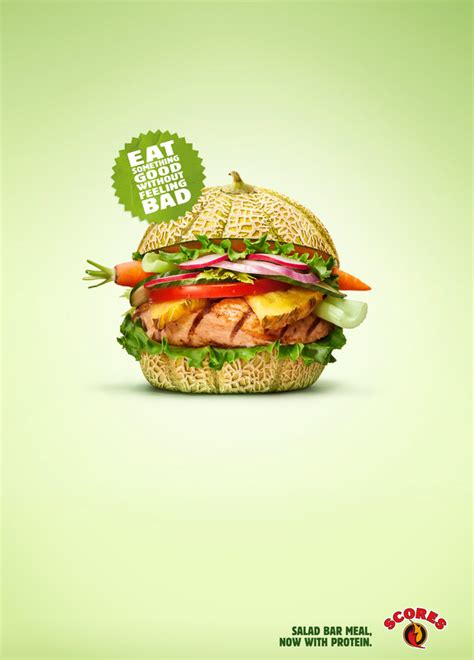 cuisine inventive 20 creative and eye catching restaurant ads clear designs