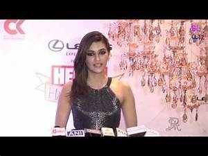 Kriti Sanon at Hello Hall Of Fame Awards 2018 - YouTube