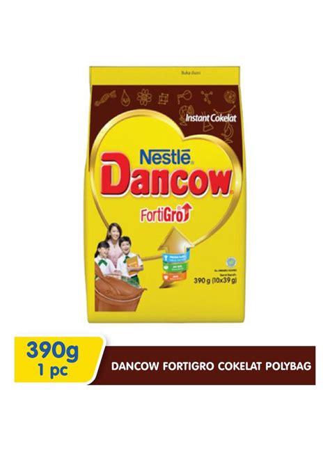 jual dancow susu bubuk fortigro polybag coklat pck xg
