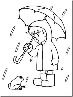 preschool alphabet rainy days experiment