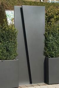 Metall Im Garten : sichtschutzwand garten metall ~ Lizthompson.info Haus und Dekorationen