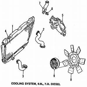 Ford E-350 Econoline Engine Water Pump