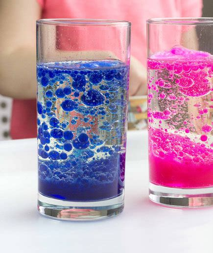 homemade lava l science experiment 6 easy and fun science experiments for kids