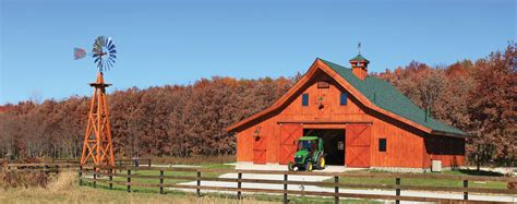 Traditional Post & Beam Barns