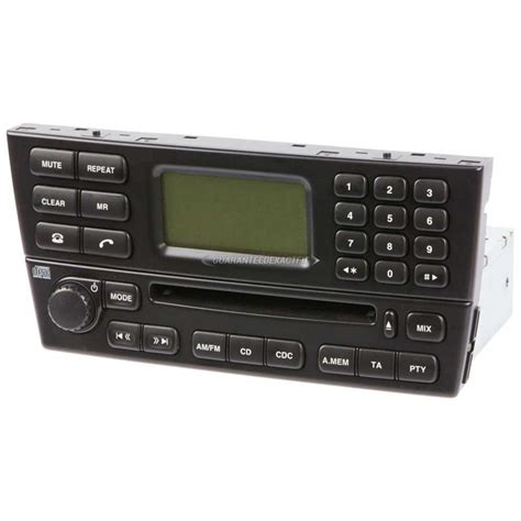2002 Jaguar X Type Radio Or Cd Player Parts From Car Parts