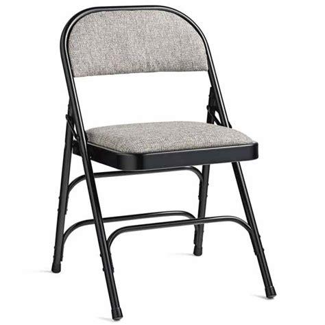 samsonite 49753 fabric padded steel folding chair