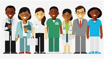 Professionals Cartoon Medical Showing Transparent Nicepng Vhv