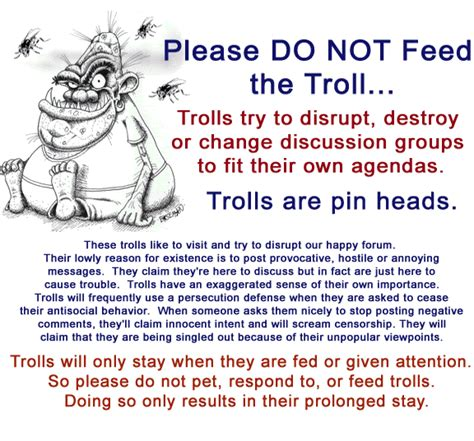 Don T Feed The Trolls Meme - quotes about internet trolls quotesgram